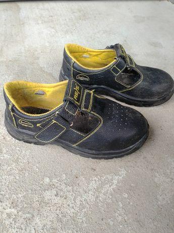 Робоче шкіряне взуття