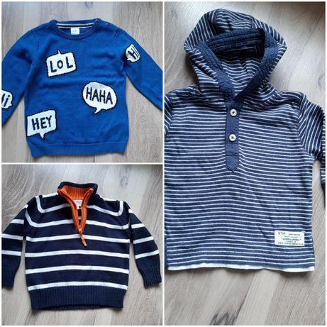 Sweterki 74 sweter dla chłopca Next HM niemowlę  ciepły