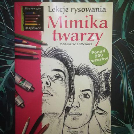 """Nauka rysunku """"Mimika twarzy"""""""