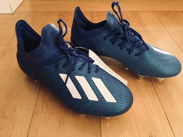 Okazja!!! Nowe korki adidas X 19.1 SG rozmiar 39 1/3 + metalowe wkręty
