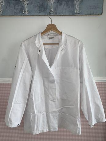 Strój kucharski (bluza,zapaska,dwie czapki)