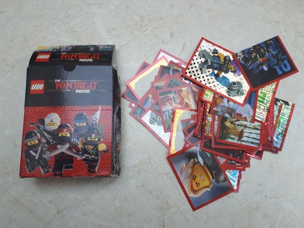 Nowe Lego Ninjago Movie naklejki
