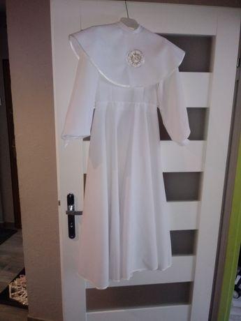 Alba komunijna sukienka w stanie idealnym, dodatki gratis