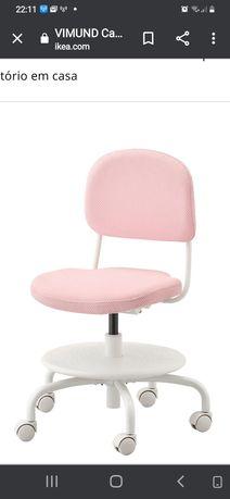 Cadeira p/ secretária criança