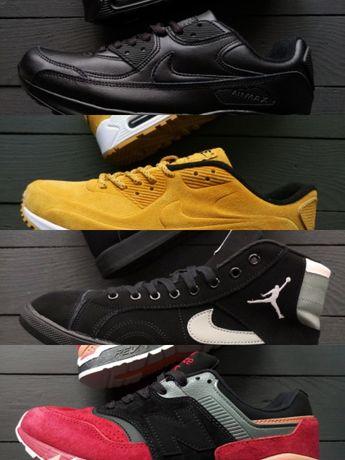 Распродажа остатков мужские кроссовки Nike air max,95,90, New Balance