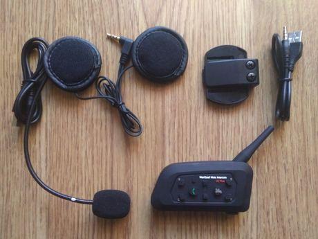 Auricular/intercomunicador Bluetooth p/ capacete / moto ( NOVO