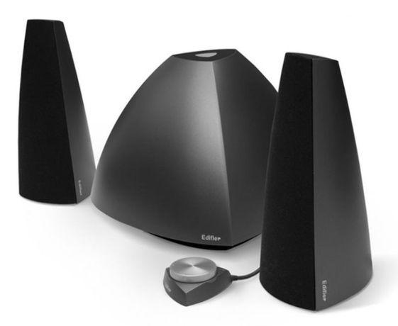 Стильная акустическая система Edifier E3350 Black, 2.1(сабвуфер)