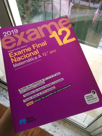 Livro de Preparação para Exame Nacional Matemática A 2019
