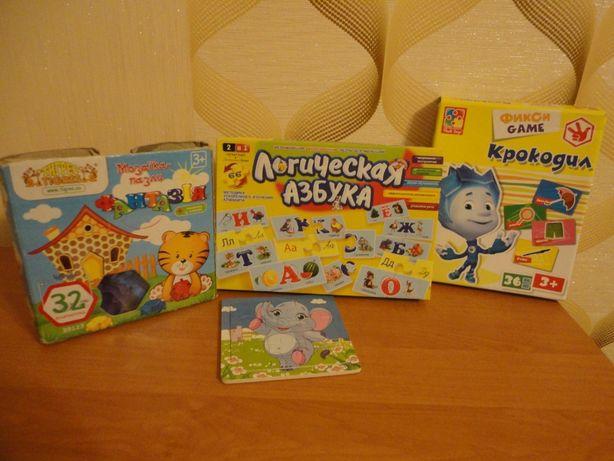 Продам развивающие детские настольные игры для детей, мозаику, пазлы