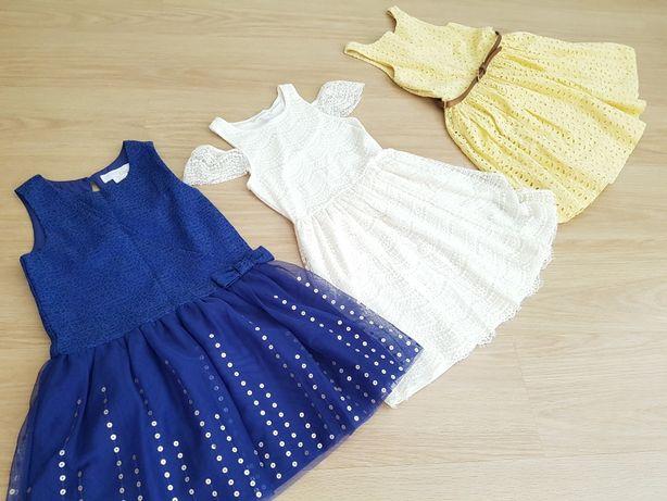 Нарядные платья  р.134
