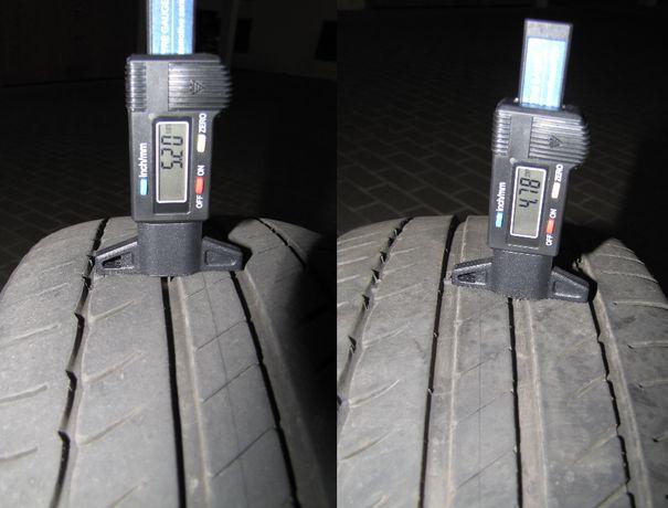 2 шини Michelin Primacy HP 215 45 R17 ~5 мм 55% шина літні летние шины