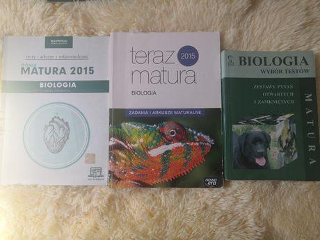 Książki testy arkusze biologia matura