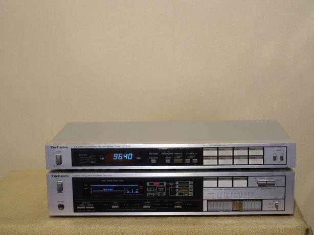 Отличный японский HI-FI стерео тюнер 80-х TECHNICS ST-Z55