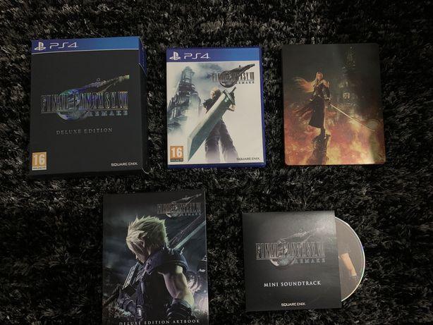 Final Fantasy 7 Remake edição deluxe