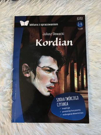 Lektura z opracowaniem ,,Kordian'' Juliusz Słowacki