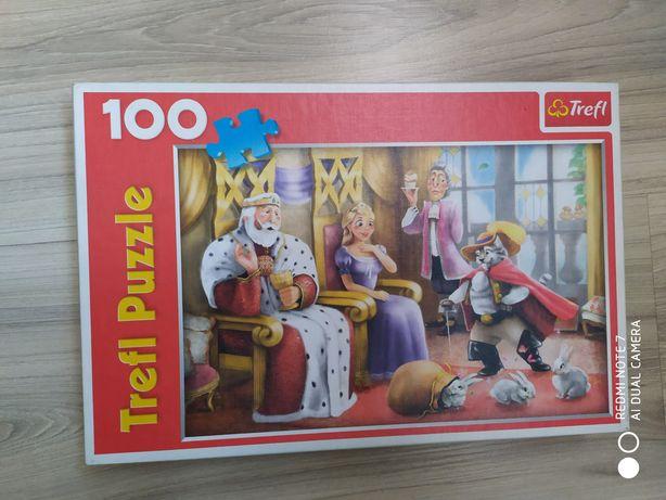 Puzzle dla dziewczynki różne wzory od 100 do 260 elementów