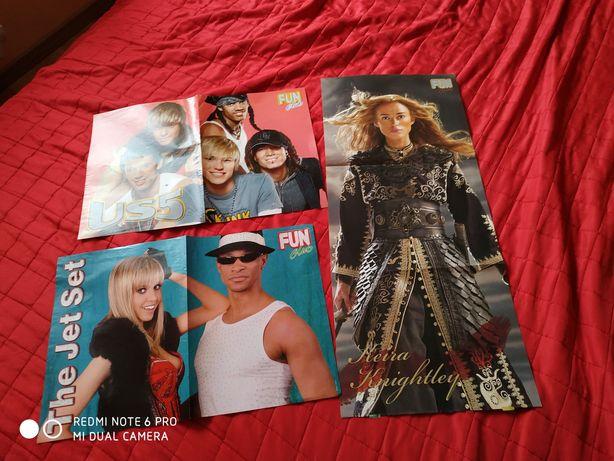 Plakaty z gazety ,,fun club,,