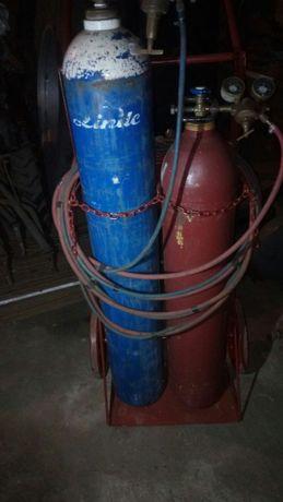 Gazy techniczne (butle tlen acetylen) butle spawalnicze