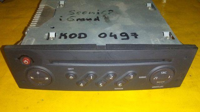 radio CD + kod Renault Clio 3,Modus,Megane 2 Lift Scenic 2 Lift