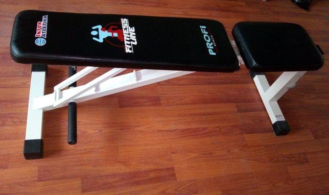 Cпортивный тренажер скамья регулир. InterAtletika Fitness Line Profi