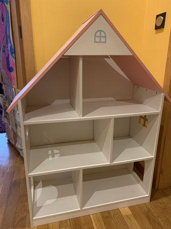 Estante de livros / biblioteca infantil casinha