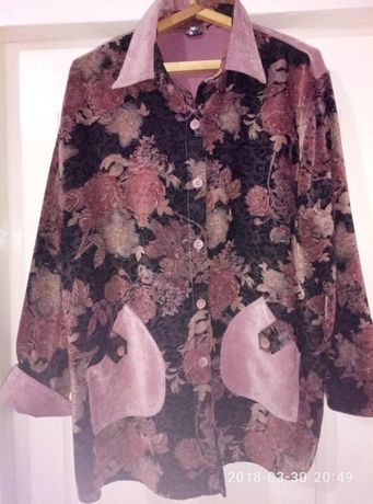 Легкая курточка, кардиган, размер 58-60