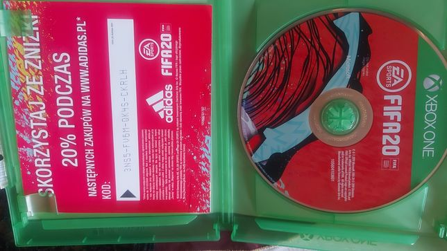 Gra FIFA 20 xbox one