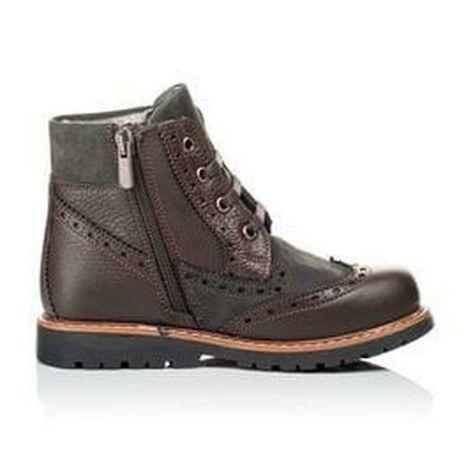 Демисезонные ботинки полусапоги челси мальчику/кожa/ от Clic Испания