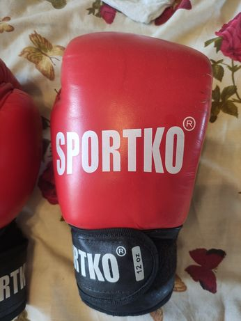 Боксерские перчатки ФБУ 12oz Sportko