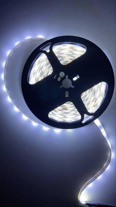 Светодиодная лента холодный белый 5 метров Донецк - изображение 1