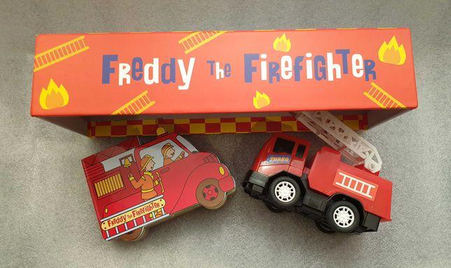Bajka edukacyjna o strażaku po angielsku zestaw ze strażą pożarną