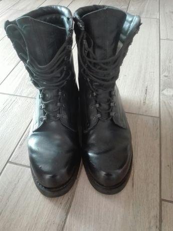 Buty skórzane desantowe