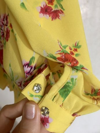 Блуза  блузка рубашка  р.р. S Paris Atelier & other stories