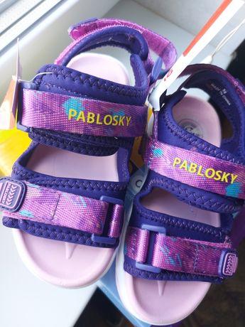 Босоножки  Pablosky (zara,adidas,nike,h&m) на девочку