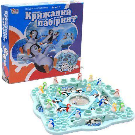 Настольная игра Ледяной лабиринт (Крижаний лабіринт) (UKB-B0002)
