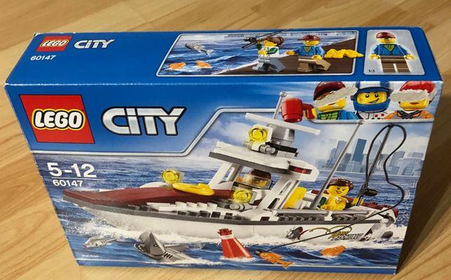 Sprzedam lego city łódź rybacka