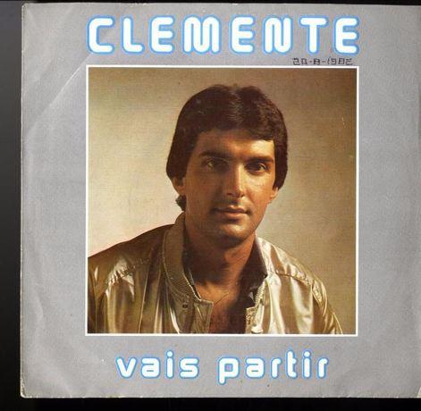 Vinil Single Clemente - Vais Partir