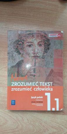 """""""Zrozumieć tekst zrozumieć człowieka 1.1"""" j. polski wyd. WSiP"""