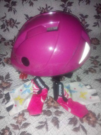 Защита на 5-8 лет, шлем и перчатки
