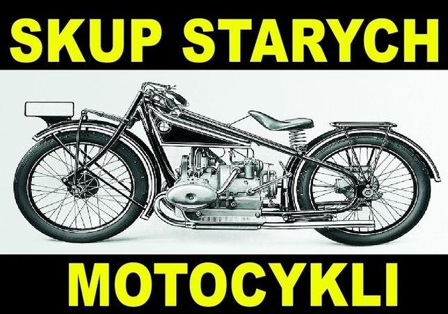 SKUP- stare, zabytkowe motocykle, motorowery *małopolskie*śląskie*
