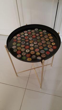 Stolik kawowy/piwny, loft, prezent dla piwosza