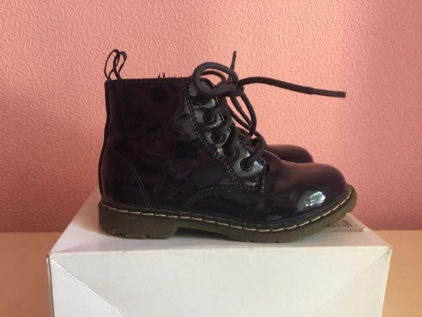 Демисезонные ботинки ботиночки Zara