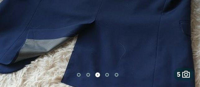 Nowy garnitur F&F Granatowy. Marynarka rozmiar 54, spodnie 34/31