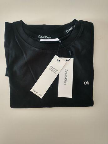Czarna bluzka Calvin Klein