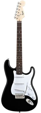 Squier by Fender Bullet Strat SSS BLK - gitara elektryczna + GRATISY