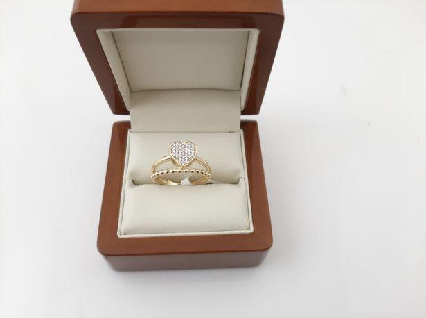 ZŁOTY pierścionek - PR.585 2,95g - Nowe