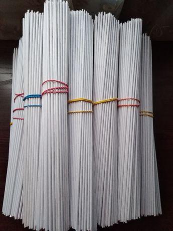 Трубочки для плетения (бумажная лоза).