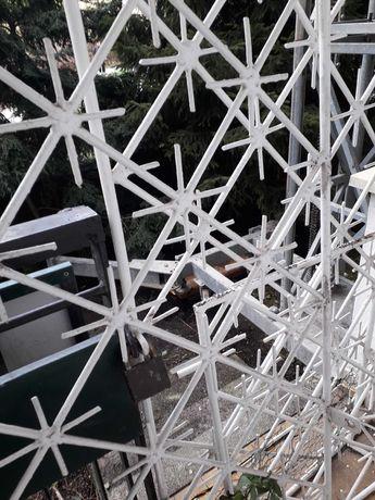 Stalowa krata balkonowa z demontażu