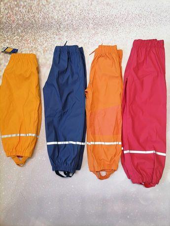 Штаны грузепруф-дождевик lupilu.Размеры от 86 до 122