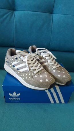 Adidas Tech Super kropki dotted grey